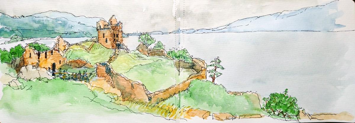 Castle Urquhart, Nr Drumnadrochit