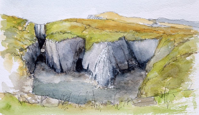 Waterfall, Eskraha