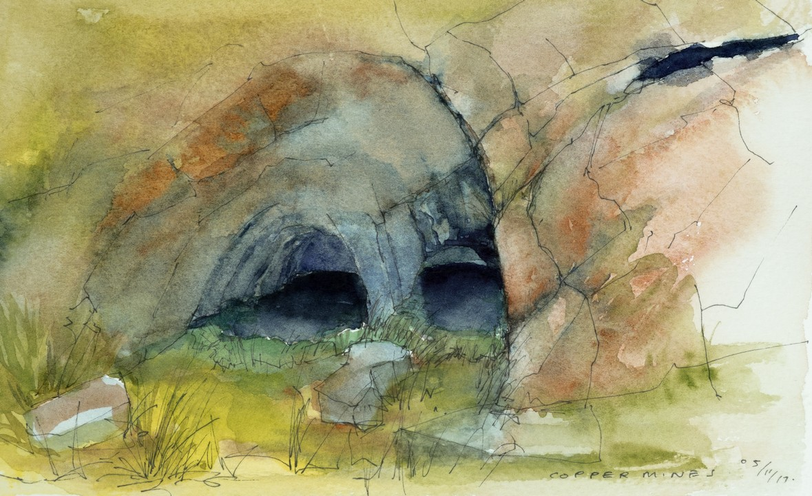 Neolithic copper mines