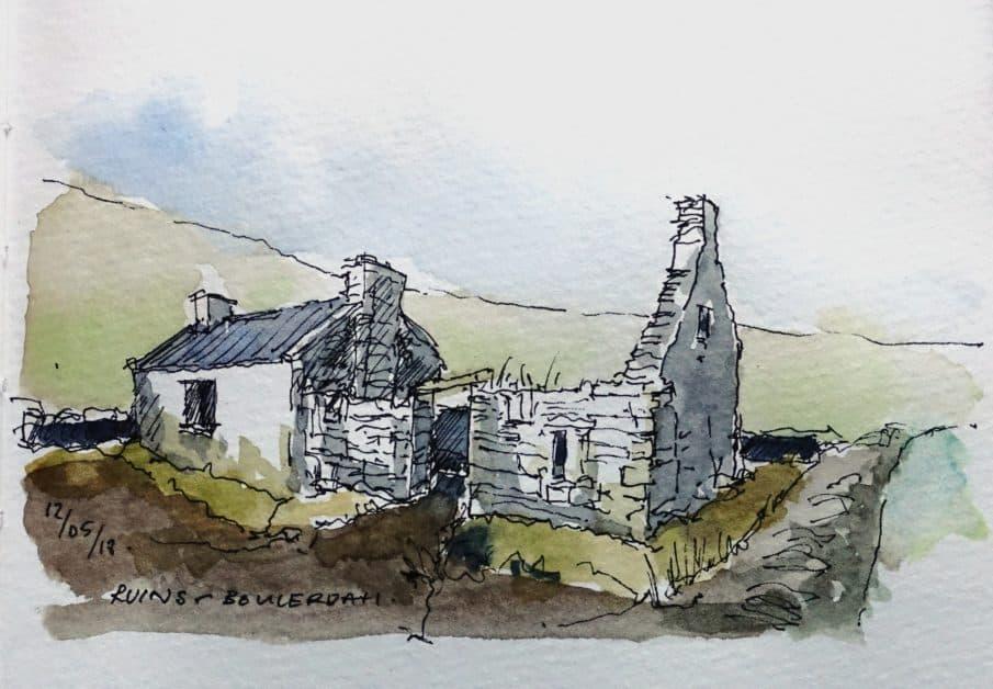 Ruins at Bouledah