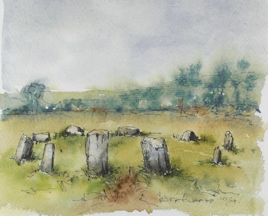 Stone Circle sketch