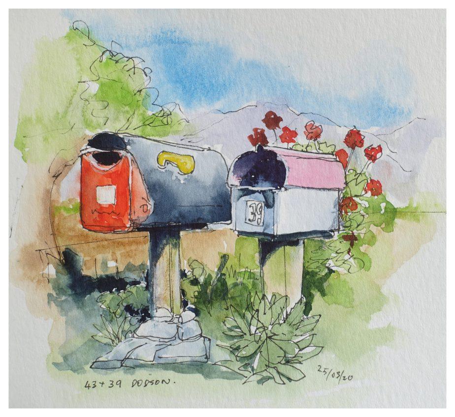 Post boxes, Takaka